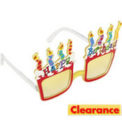 Funky Birthday Cake Sunglasses
