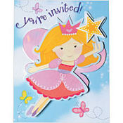 Fairy Wishes Large Invitations 8ct