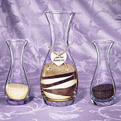 Wedding Unity Vase Sand Set 5ct