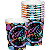 Modern New Year's Cups 8ct