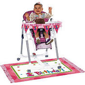 One-Derful Girl 1st Birthday High Chair Decoration Kit