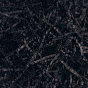 Black Crinkle Paper Shreds