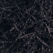Black Crinkle Paper Shreds 2oz
