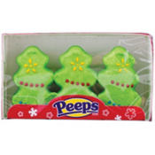 Christmas Tree Peeps 3ct