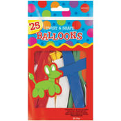 Animal Twist & Shape Latex Balloons 11in 25ct