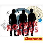 Jonas Brothers T-Shirt Decals 4ct