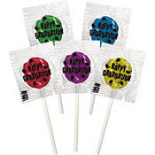 Grad Lollipop Graduation Favors 50ct<span class=messagesale><br><b>18¢ per piece!</b></br></span>
