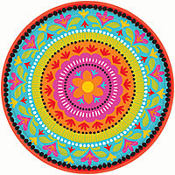 Fiesta Brights Dinner Plates 8ct