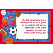 Little Champs Custom Invitation