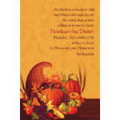 November Harvest Custom Invitation