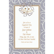 Platinum Proposal Custom Invitation
