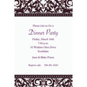 Formal Affair Custom Invitation