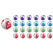 Mini Inflatable Beach Balls Mega Value Pack 24ct