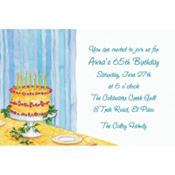 Still Life Birthday Custom Invitation