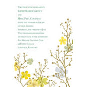 Brilliant Blooms & Branches Custom Invitation