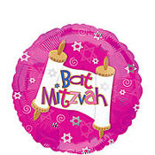 Bat Mitzvah Balloon 18in