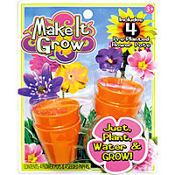 Make It Grow Flower Plants 4ct