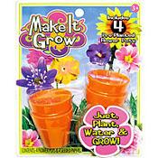 Make It Grow Flower Plants 4ct