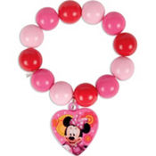 Minnie Mouse Beaded Bracelet
