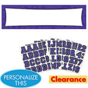 Purple Personalized Banner