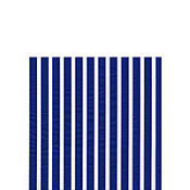 Stripes Again Blue White Beverage Napkins 20ct