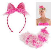 Cheshire Cat Ears and Tail Set