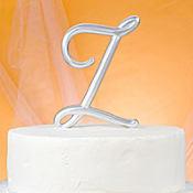 Monogram Z Cake Topper