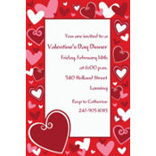 Be Mine Custom Valentines Day Invitation