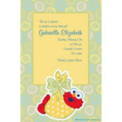 Elmo Baby Custom Birth Announcements