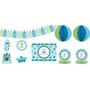 Little Prince Baby Shower Decorating Kit 10pc