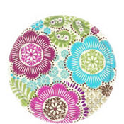 Fashion Floral Dessert Plates 8ct