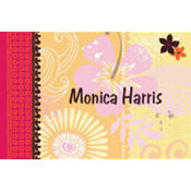 Tropical Heat Custom Thank You Note