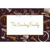 Black Tie Affair Custom Thank You Note