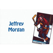 Hockey Card Custom Thank You Note