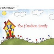 House on Wheels Custom Thank You Note