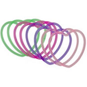 Glitzy Girl Jelly Bracelets 6ct