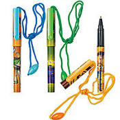 Toy Story 3 Clip Pen with Rope 3ct