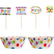 Birthday Cupcake Decoration Kit