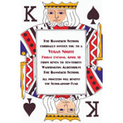 King of Spades Custom Invitation