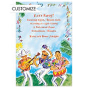 Summer Musicians Custom Invitation