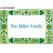 Celtic Border Custom St. Patricks Day Thank You Note