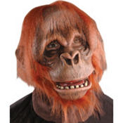 Latex Orangutan Mask