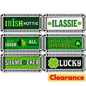 St. Patricks Day Carded Ring Set 6ct