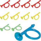Plastic Airhorn Ring 48ct