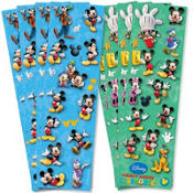 Mickey Mouse Sticker Strip 2 Sheets