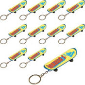 Skateboard Keychain 48ct
