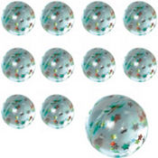 Star Glitter Bounce Ball 48ct