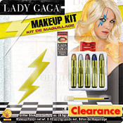 Lightning Bolt Lady Gaga Makeup Kit