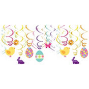 Easter Swirl Decorations 12ct