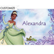 Princess and the Frog Custom Thank You Note